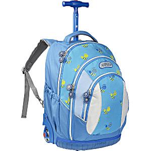 Школьный рюкзак на колесах – ранец JWORLD Sweet Bees – арт. KRB001009 (для 3-5 класса, 21 литр)