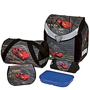 Школьный ранец Herlitz Flexi Plus RED RACER с наполнением