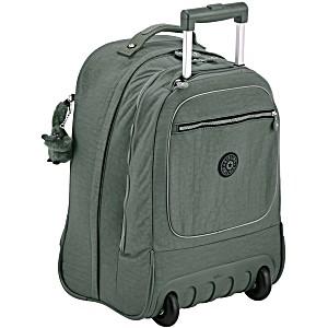 Рюкзак на колесах Kipling CLAS Soobin L оливковый