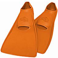 Ласты ProperCarry детские закрытая пятка для бассейна резиновые размер - 24 оранжевые ПРОПЕРКЭРРИ