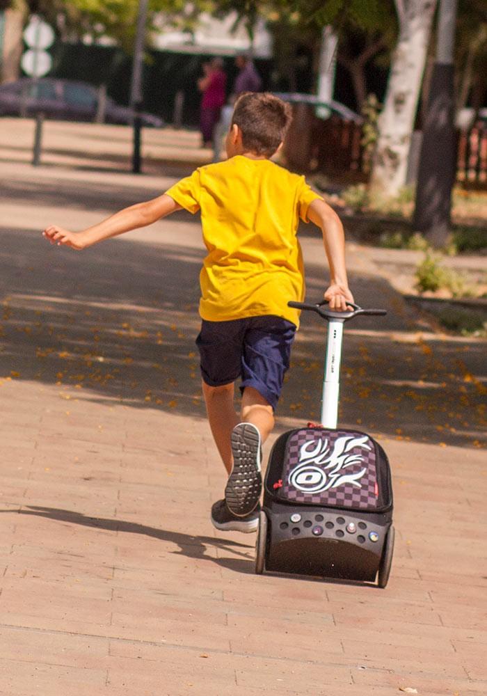 Рюкзак на колесиках Roller Nikidom White Fire XL арт. 9319 (27 литров), - фото 15