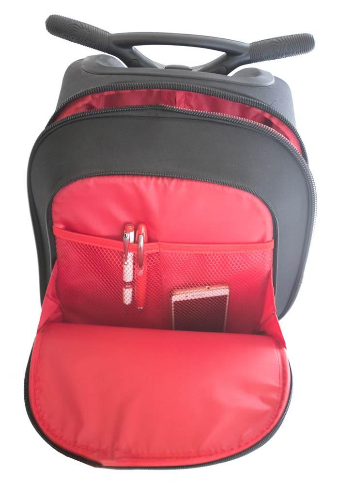 Рюкзак на колесиках Roller Nikidom White Fire XL арт. 9319 (27 литров), - фото 4